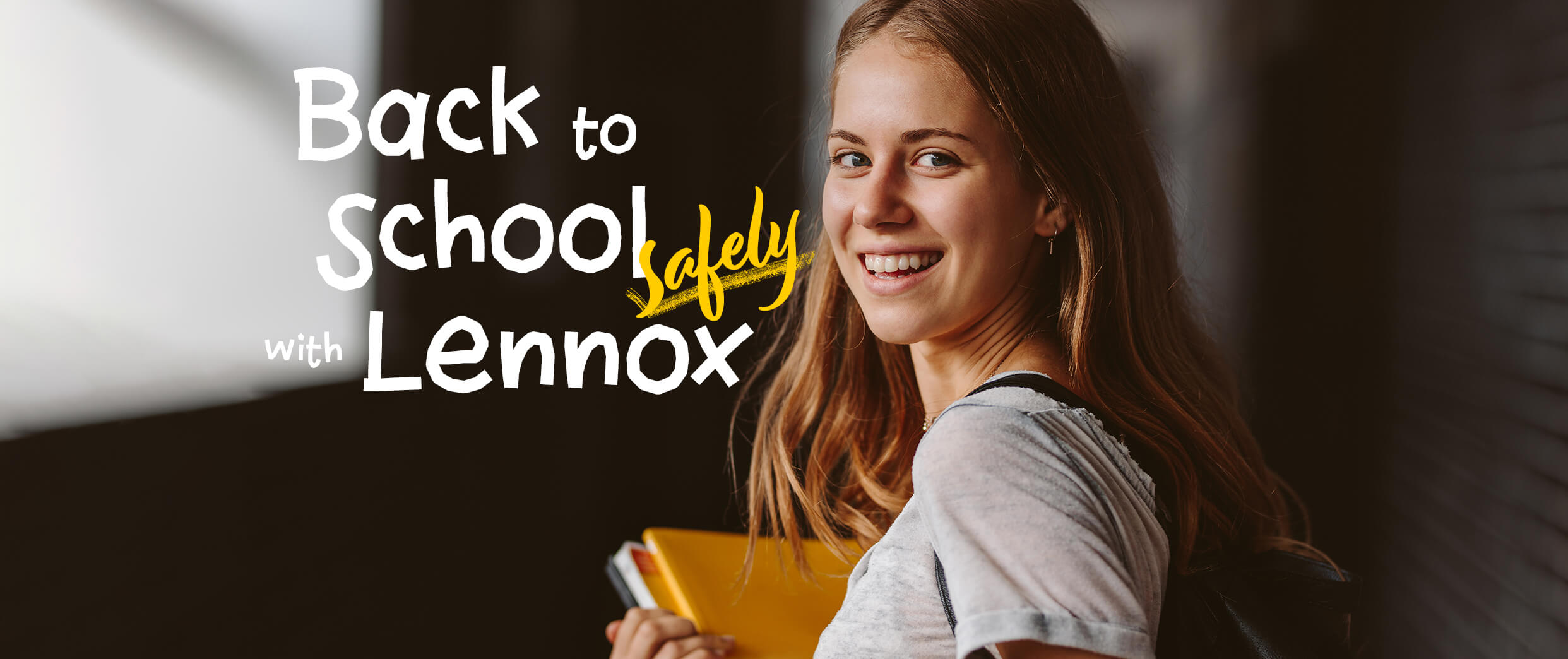 Back to School Safely with Lennox. Visit Lennox Educational for PPE you can trust