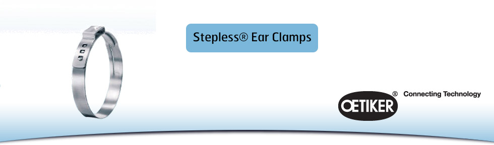Stepless® Ear Clamps